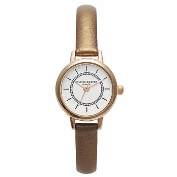 Colour Crush Watch - brown metallic and rose gold