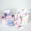 Princess Castle Stationery Set