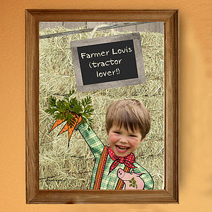 Personalised Farmer Poster