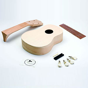 Make Your Own Ukulele Kit - gifts for music fans