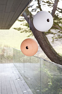 Ceramic Birdball Birdhouse - for garden wildlife