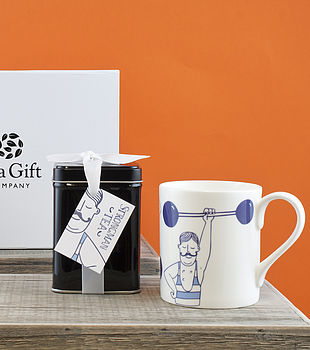 A Strong Tea For A Strongman Gift Set