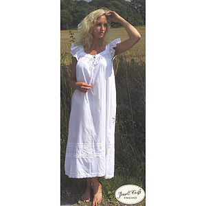 Margo Cotton Nightdress - lingerie & nightwear