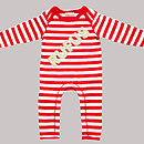 Personalised Name In Lights Romper