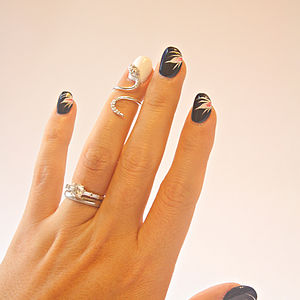 Snake Nail Ring - women's jewellery