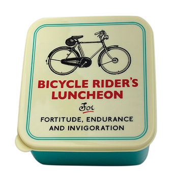 Bicycle Riders Lunchbox