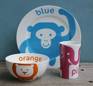 Animal Fine Bone China Gift Set - baby care