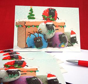 Sheep Christmas Card Pack - cards