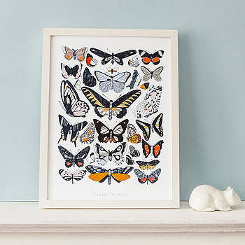'London Wildlife' Print