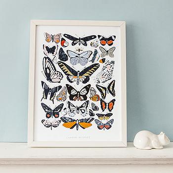 'London Wildlife' Print