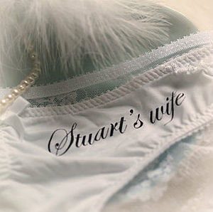Wedding Personalised Bridal Briefs - women's fashion