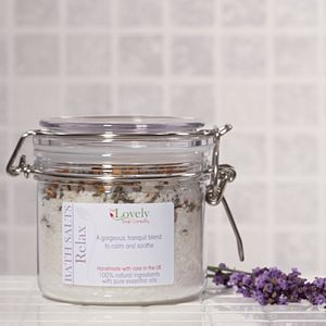 Relaxing Aromatherapy Bath Salts - beauty & pampering