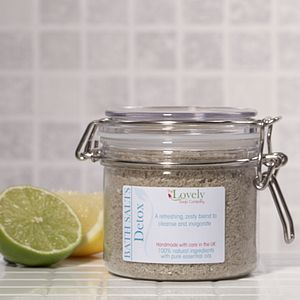 Detox Aromatherapy Bath Salts - bathroom