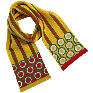 English Breakfast Merino Wool Scarf - women's accessories sale