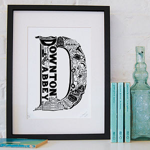 Best Of Downton Abbey Screenprint