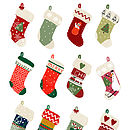 Christmas Stockings Greeting Card