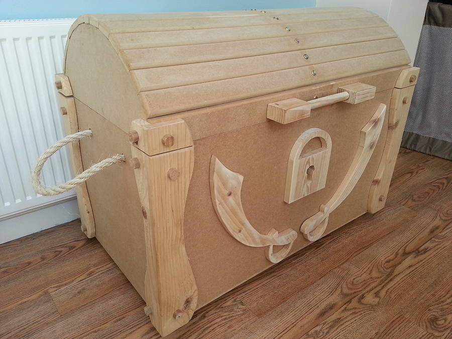 We're sorry, Wooden Pirate Treasure Chest Toy Box is no longer ...