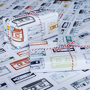 Play List Wrapping Paper
