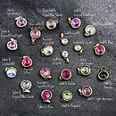 Swarovski crystal charms