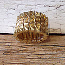 Chunky Stretch Gold Ring