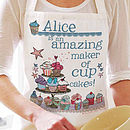 Design Your Own Personalised Apron