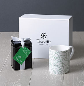 A Hug In A Mug Tea Gift Set - food & drink gifts