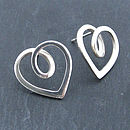 Eternal Heart Studs