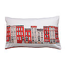 New York Brooklyn Town Houses Cushion