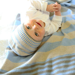 Cashmerino Baby Set - hats, scarves & gloves