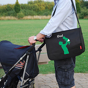 Personalised Dad's Baby Change Bag - baby changing