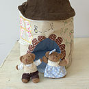Mr And Mrs Bear In The Bear House