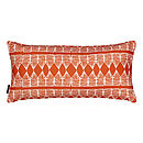 Huts Rectangle Cushion Pumpkin Orange