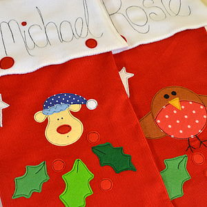 Personalised Christmas Stocking - free delivery gifts