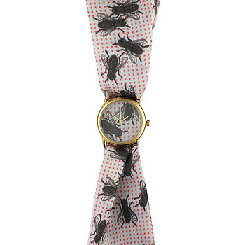 Flies Small Fabric Watch