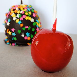 Toffee Apples - halloween
