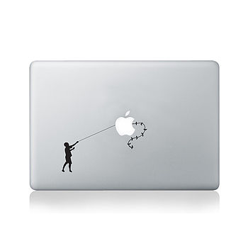 Banksy Kiterunner Decal For Macbook