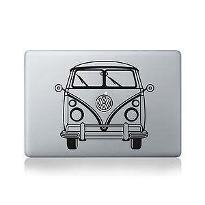 Vw Camper Van Decal For Macbook - bags & purses