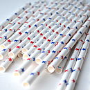 Thumb little stars paper straws