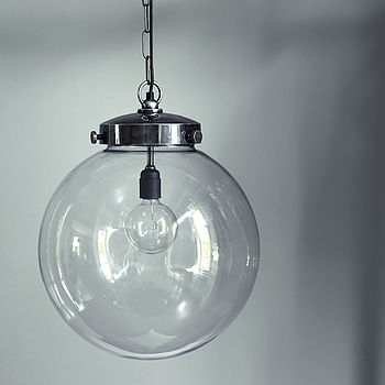Bayliss Large Globe Pendant Light