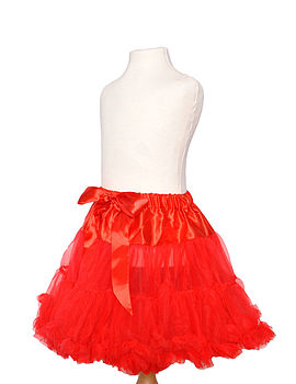 Red Pettiskirt