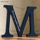 Wooden Letters Personalised