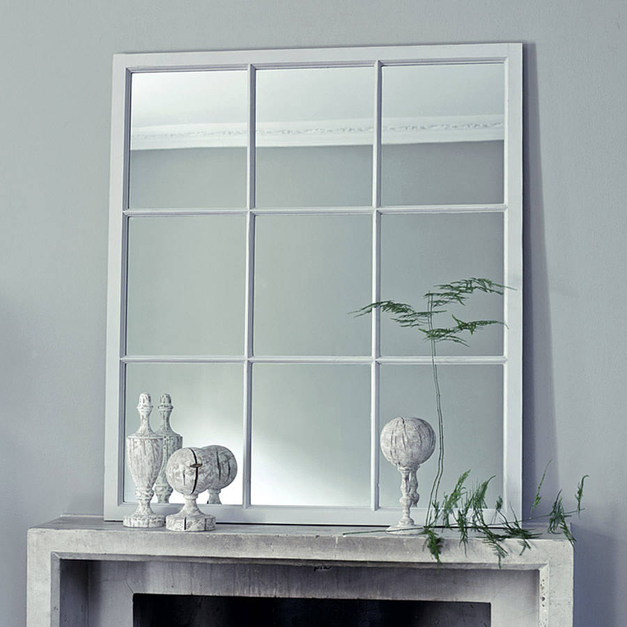 Dalton window mirror by rowen wren Window pane mirror