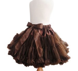 Chocolate Pettiskirt - shop by price