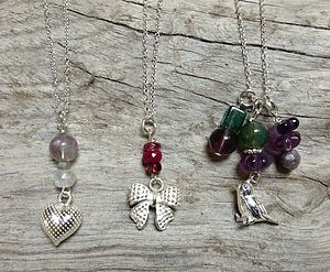 Delicate Sterling Silver Necklaces