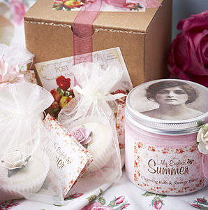 My English Summer Pamper Gift Box - gifts for her