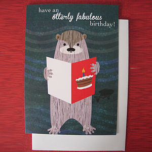 Otterly Fabulous Birthday