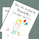 Personalised Girl's Party Invitations