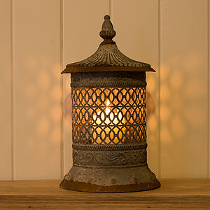 Moroccan Style Ornate Candle Lantern - lights & lanterns