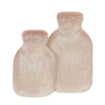Smoothie Faux Fur Standard and Travel Hot Water Bottle