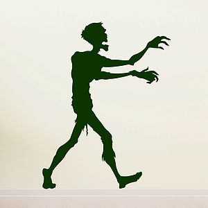Zombie Halloween Wall Sticker - office & study